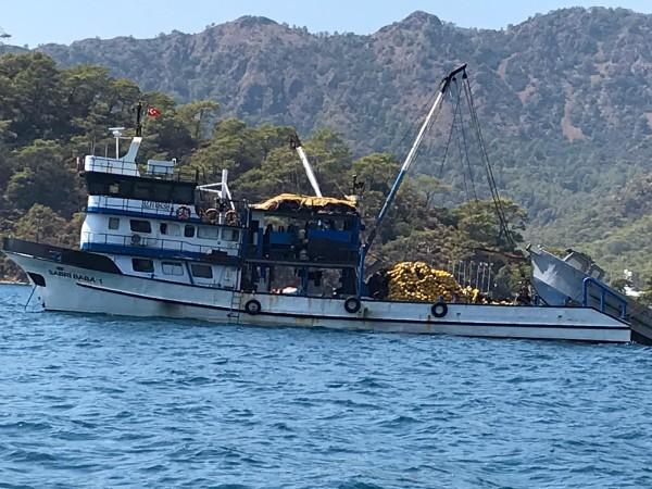 SABRİ BABA-1 Deniz Kazası İnceleme Raporu yayımlanmıştır.